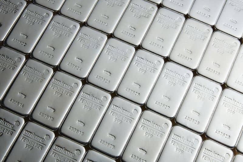 Uvoz srebra v Turčijo 4-krat večji v mesecu marcu